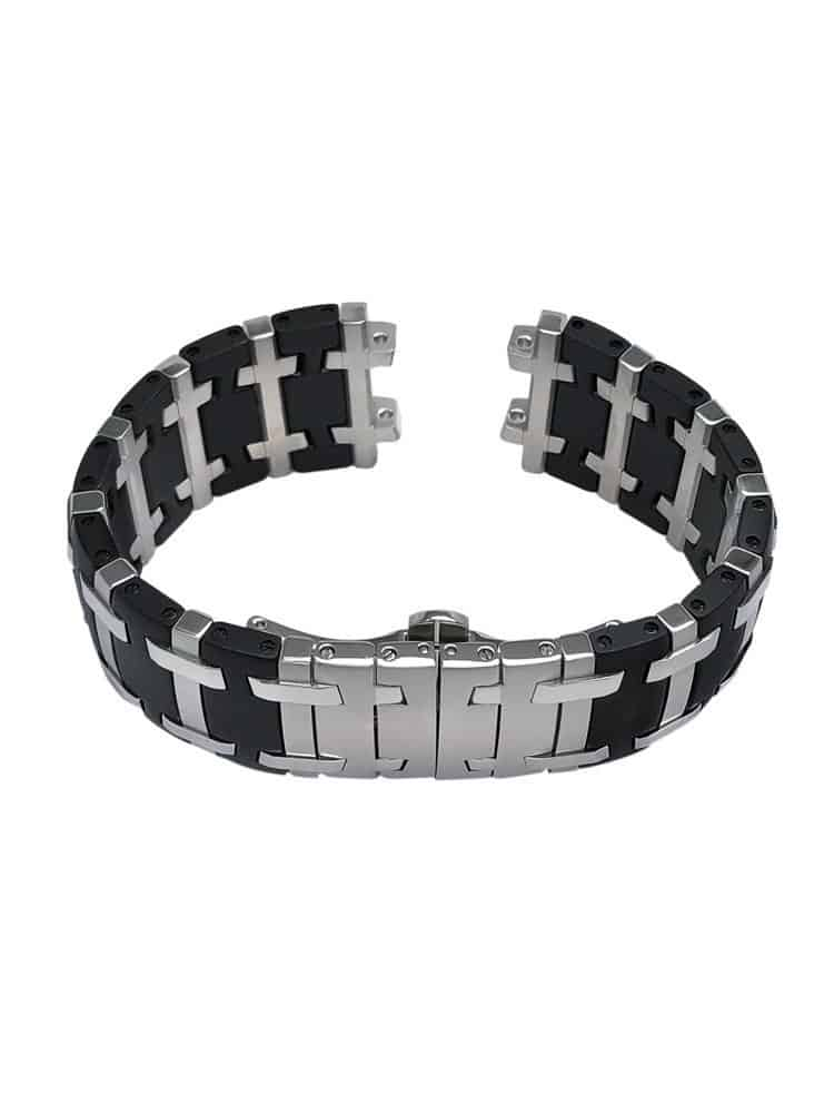 CO838 - Concord Saratoga  14.C2.1894.1 - Stainless Steel & black PVD Bracelet