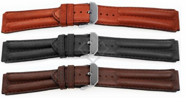 double-ridged-racing-style-watch-bands in 20mm