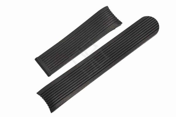 eb364 - Ebel Classic Sport - black rubber watch strap