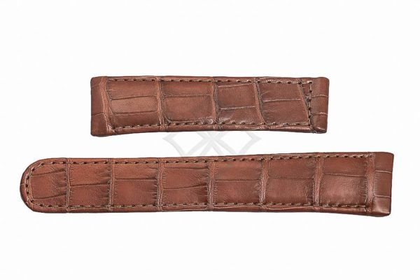 EB944 - Replacement Ebel Brown Crocodile 22mm Watch Band