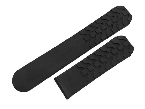 EB995 - Ebel type E XL - Black Rubber watch band - 629400995