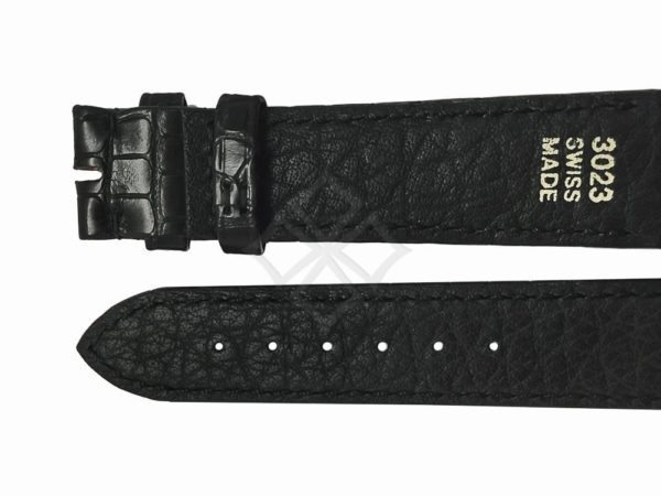 Ebel 1911 alligator watch band for tongue buckle 3023