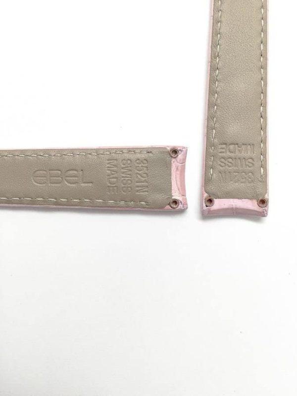 Ebel 1911 Mini - Pink Crocodile
