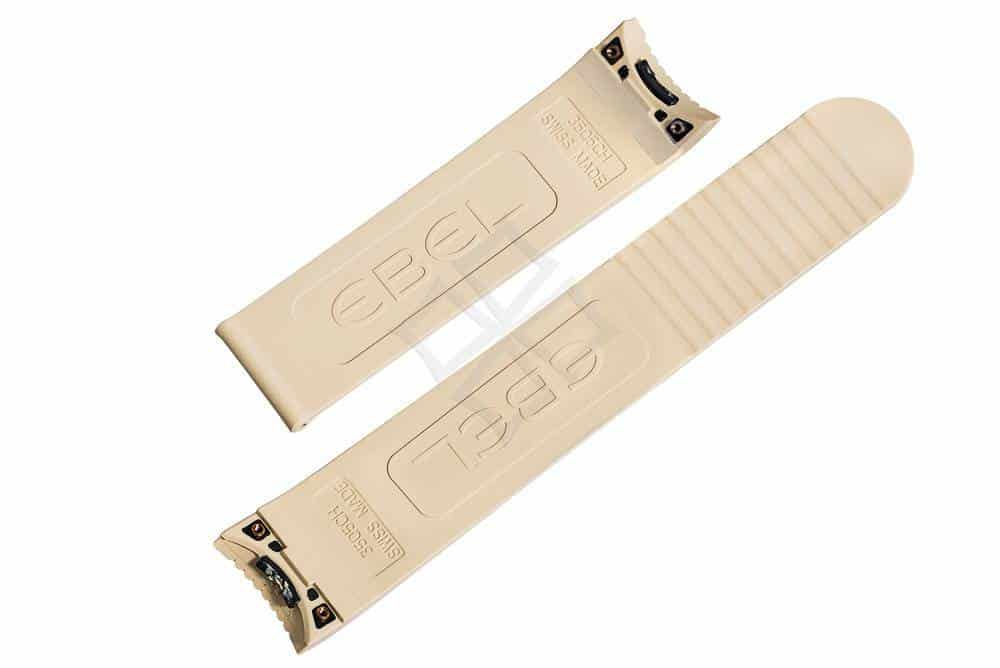 ebel 3505CH Swiss Made rubber watch band