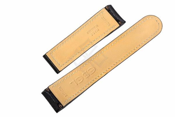 ebel 35f4ch swiss made watch strap with screw attachements