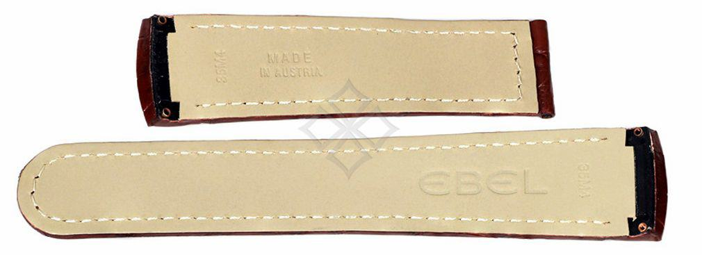 Ebel Brasilia crocodile band - 35M4 - screw attachements - EB143-compressed