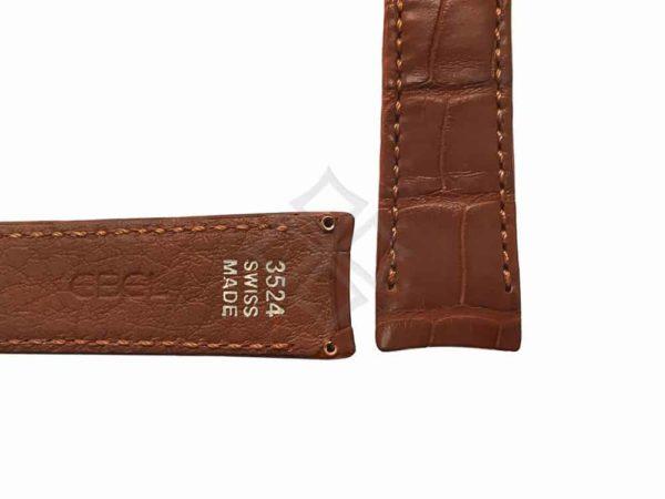 ebel brown alligator watch band eb842 - 3524