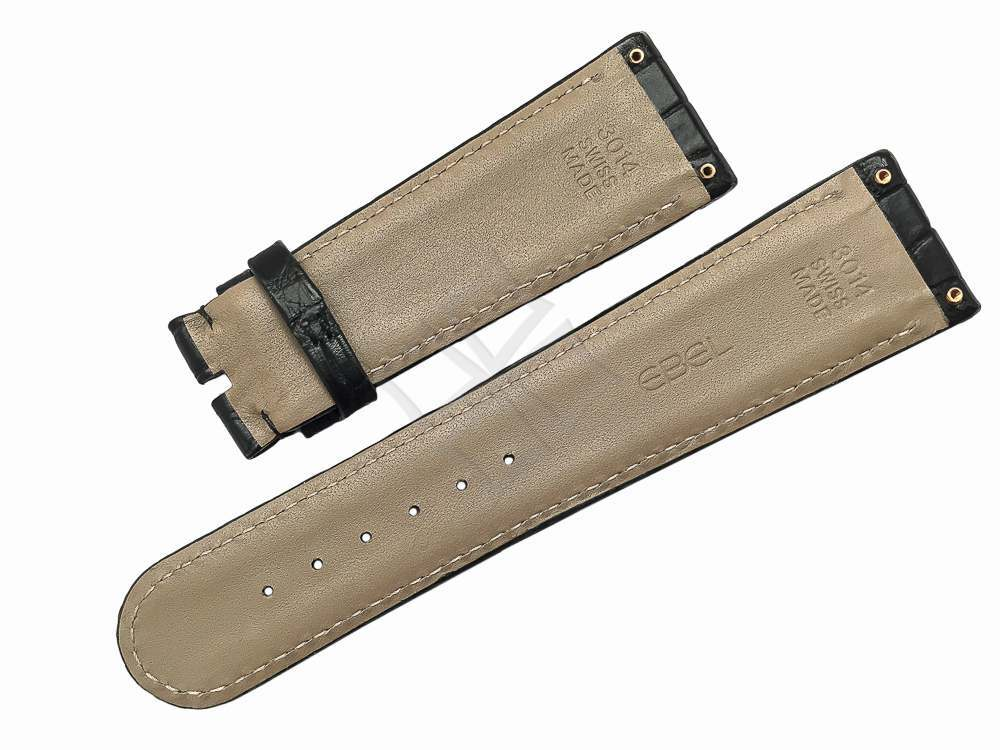 Ebel lLa Carre 3014 Swiss Made genuine alligator watch band