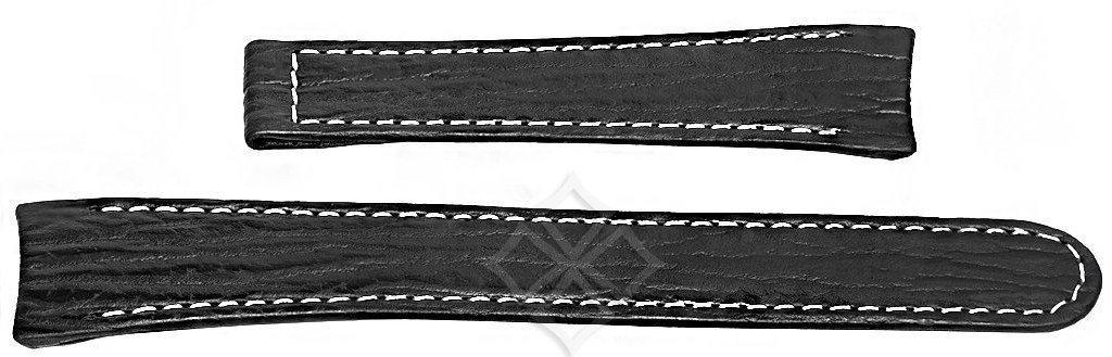 Ebel Sport Classic black sharkskin watch band - 20mm wide - EB771