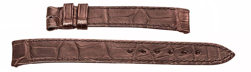 Ebel Sport Classic dark brown crocodile band 18mm wide EB478