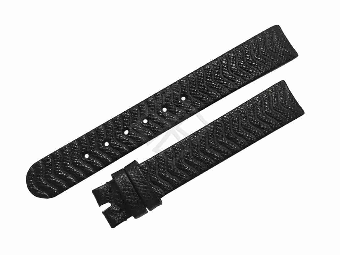 Ebel Sport Classic Mini Replacement Black Leather 13mm Watch Band