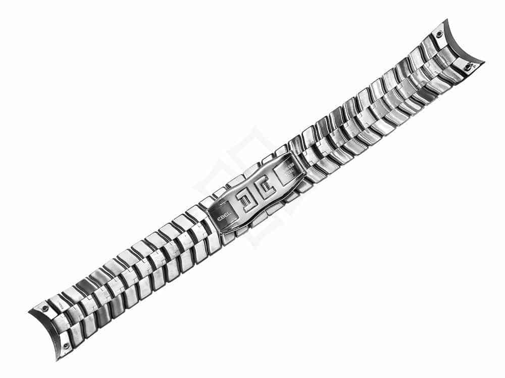 ebel stainless steel bracelet with screw attachments