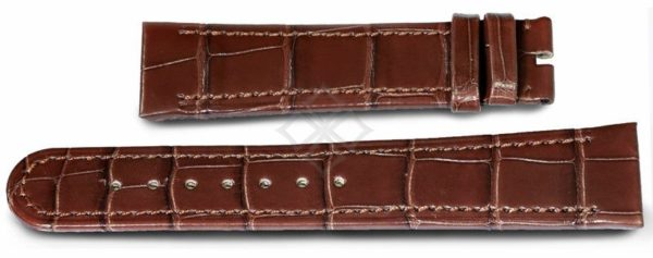Ebel Tarawa dark brown crocodile watch band - 21mm wide - EB997