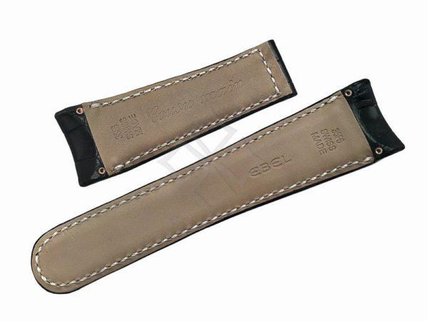 Ebel Tekton 26mm Black Crocodile Band - EB270
