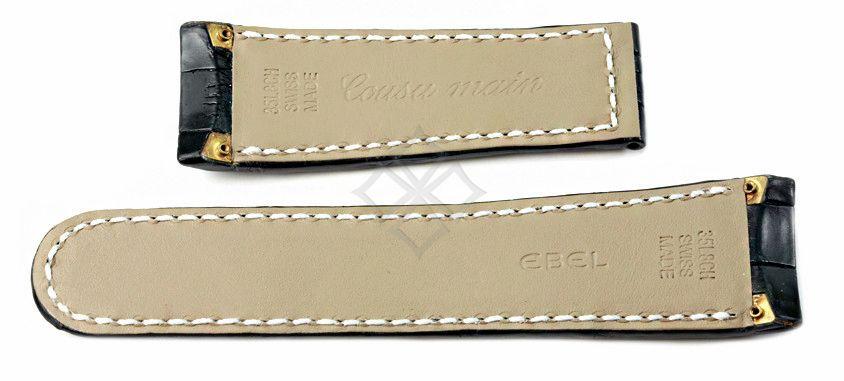 Ebel Tekton 35L8CH Swiss Made crocodile band with screw attachements - 26mm wide - EB269