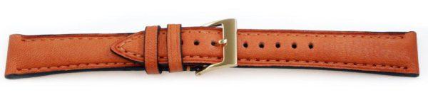 European Leather Tan Watch Band  Ecopel 16315