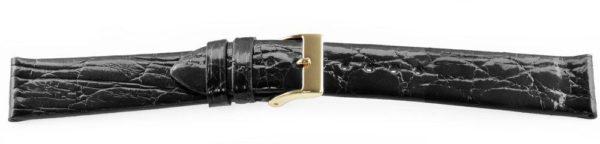 Black-Crocodile-Watch-Band