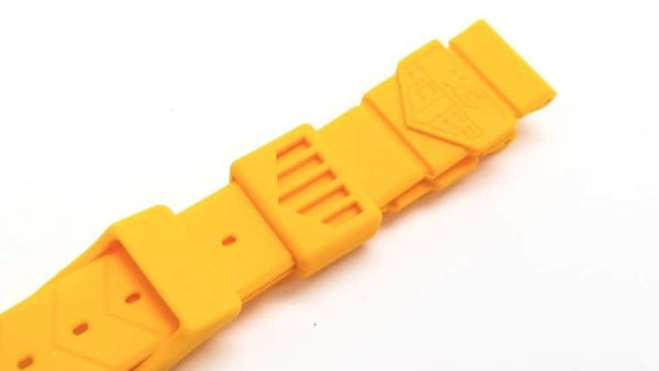 Genuine Tag Heuer Mid-size Formula 1 yellow replacement band