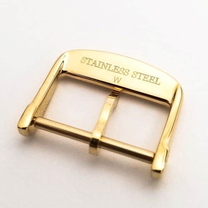 Gold tone Longines Yellow PVD buckle