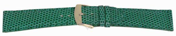 Green Short Lizard Watch Band