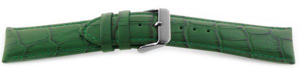 Alligator Grain Watch Band Green