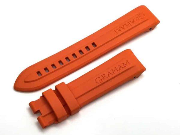GRSF32 Graham BRAK32B orange watch band