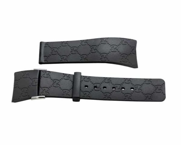 IGU221 - i-Gucci 114 Black Rubber Strap