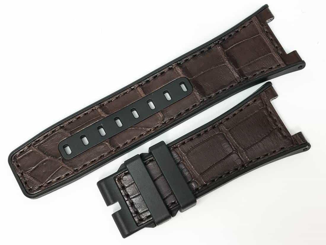 IWC Ingenieur AMG Series Brown Alligator Watch Band - IW29ing