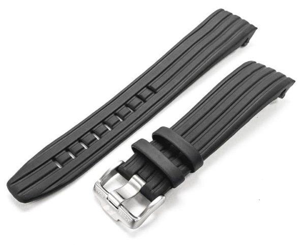 Jacques Lemans Formula 1 F-5015 - black rubber watch band