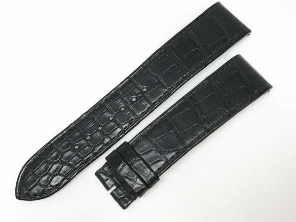 JLC20ni Jaeger LeCoultre Black Alligator
