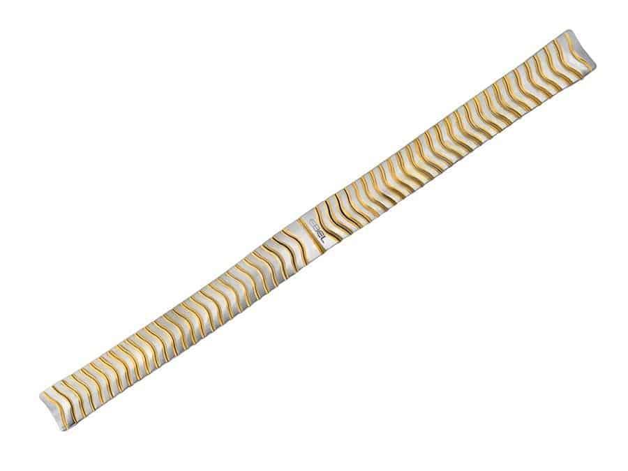 K10H, 2811.1 engraved on back of bracelet EB445 Ebel
