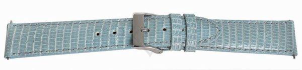 Lite Blue Short Lizard Watch Band