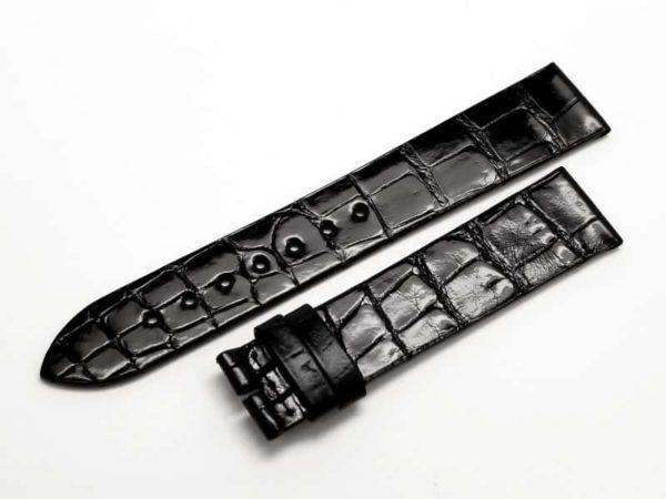LO473 - Longines Black Alligator Strap - L682111473