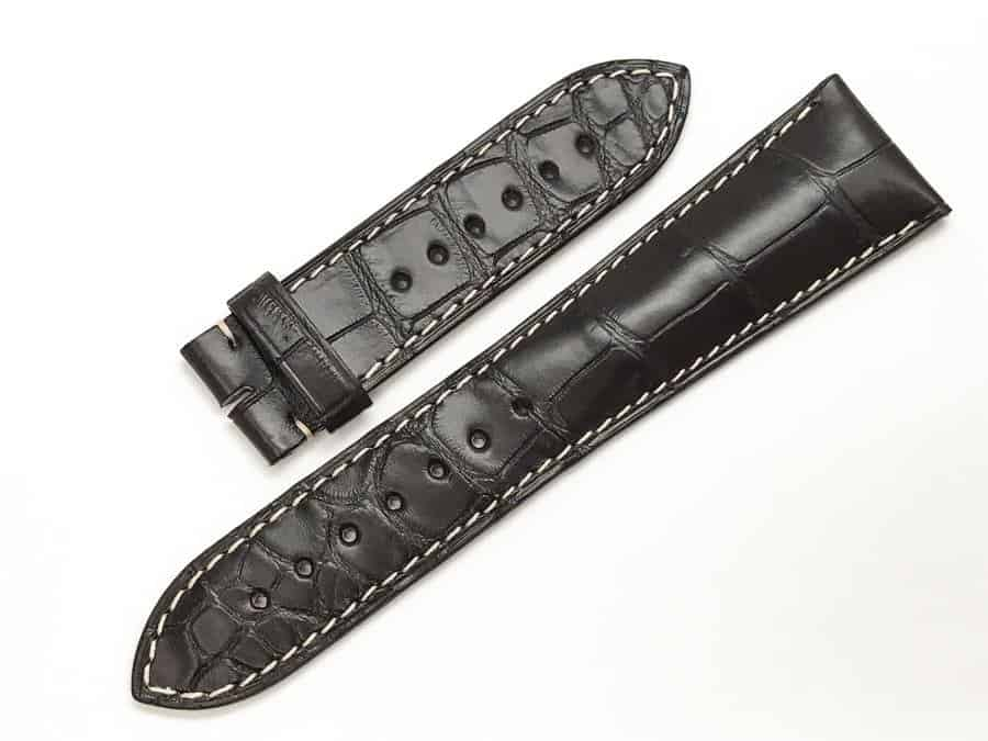Longines 25mm Brown Alligator watch band LG766
