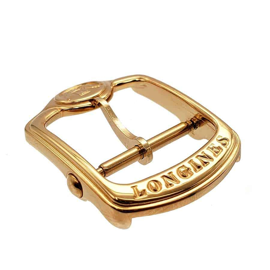 Longines Golden Wing Buckle 16mm Yellow Gold Tone buckle