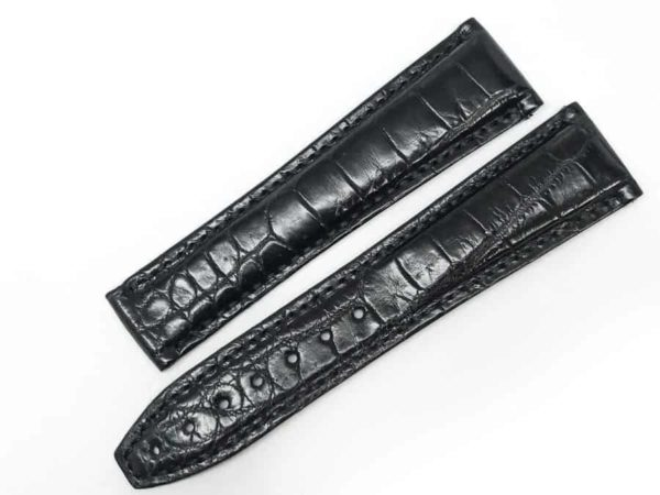 ml22bab - Maurice Lacroix Black Crocodile - 22mm