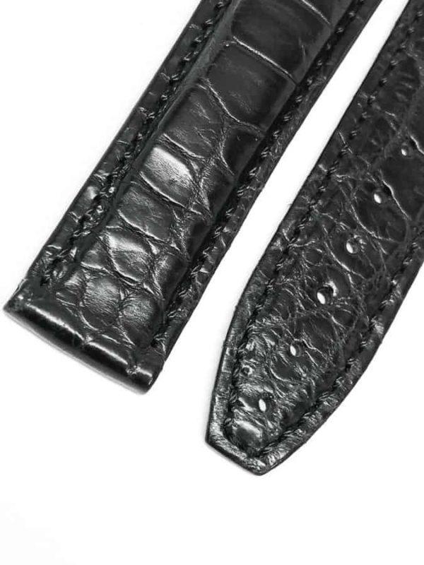 ml22bab Maurice Lacroix Black Crocodile 22mm 2