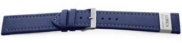 Genuine-Leather-Watch-Band-Microfiber-Navy