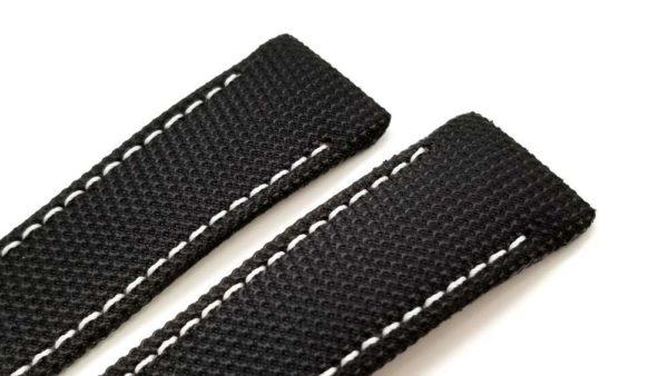OEM Brand New Black Fabric (Technofiber) 23mm Watch Band