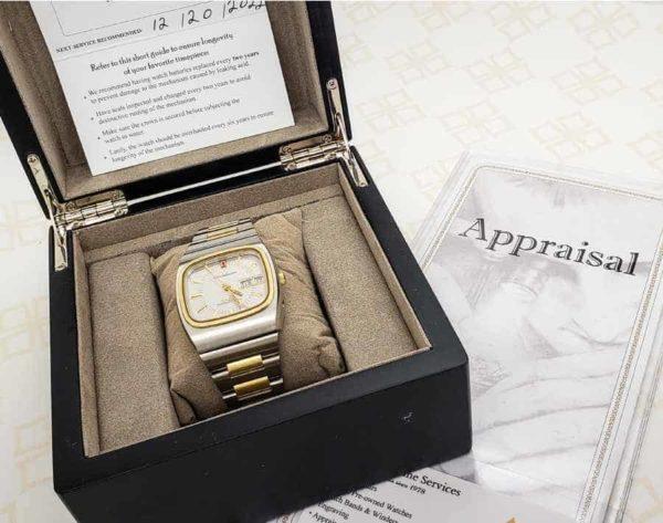 Omega Constellation Megaquartz 32Khz Vintage Watch