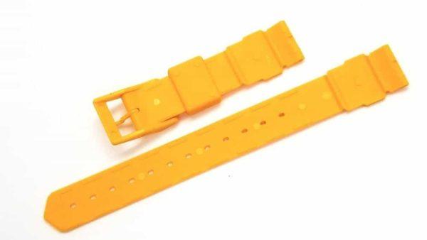 Original Tag Heuer Formula 1 Midsize Yellow Plastic 18mm