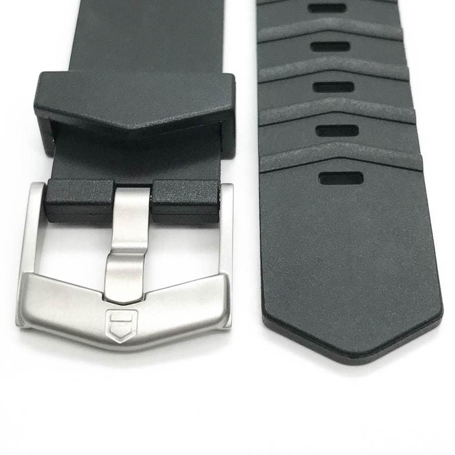 original Tag Heuer steel satin finished Tag Heuer tang buckle