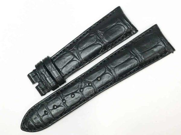 Original Vulcain Black Alligator Watch Band vul22