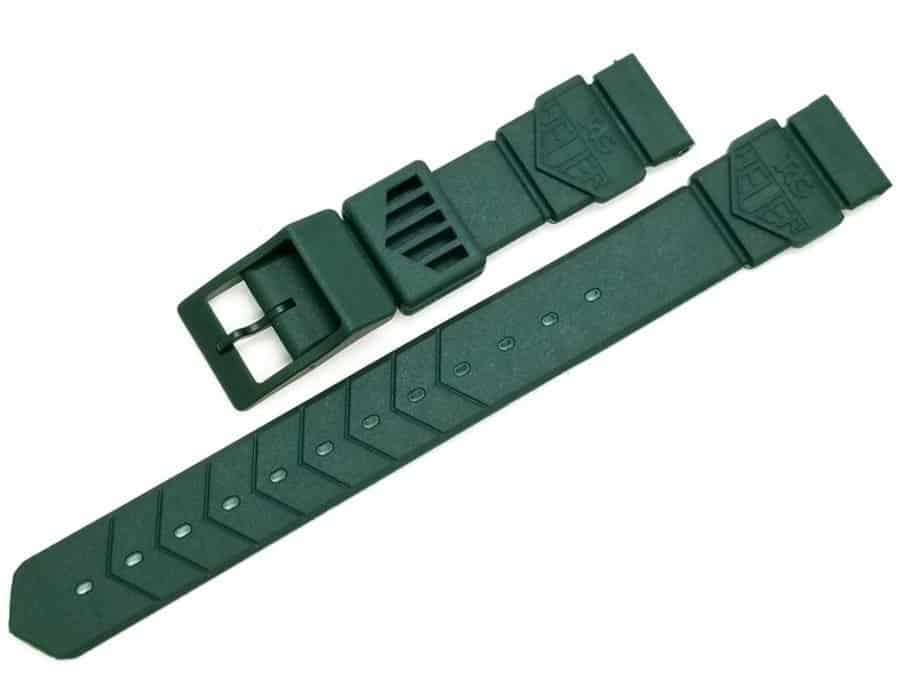 Replacement-Original-Tag-Heuer-Formula-1-F1-Midsize-Green-Plastic-band