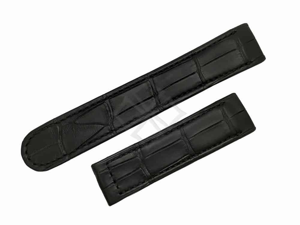 Replacement Black Alligator Watch Band for Ebel 1911 - eb836