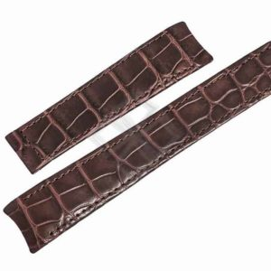 Replacement brown alligator XL band for Ebel Classic - Eb35F4