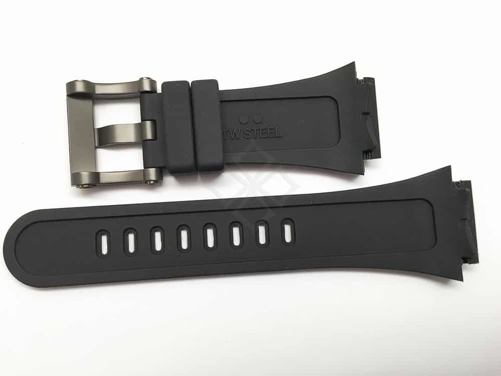 replacement silicone tw steel tech watch band - 30mm
