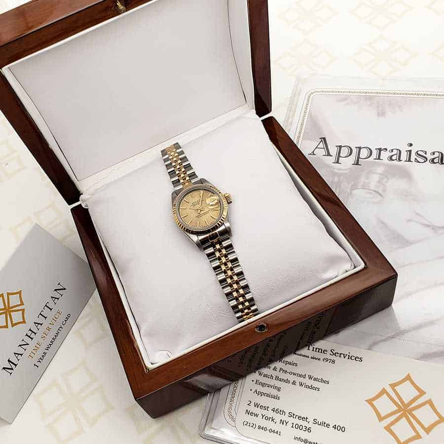 Rolex Datejust Appraised value in the curent condition $5500