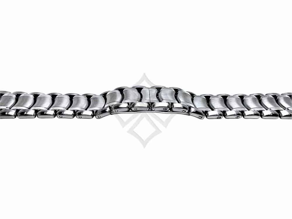 stainless steel ebel bracelet with screw-in sizing links