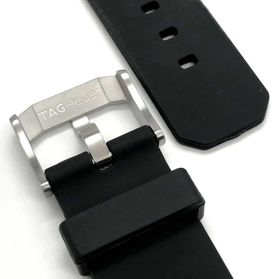 tag heuer formula one 18mm steel buckle - tg705